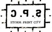 Storm Print City