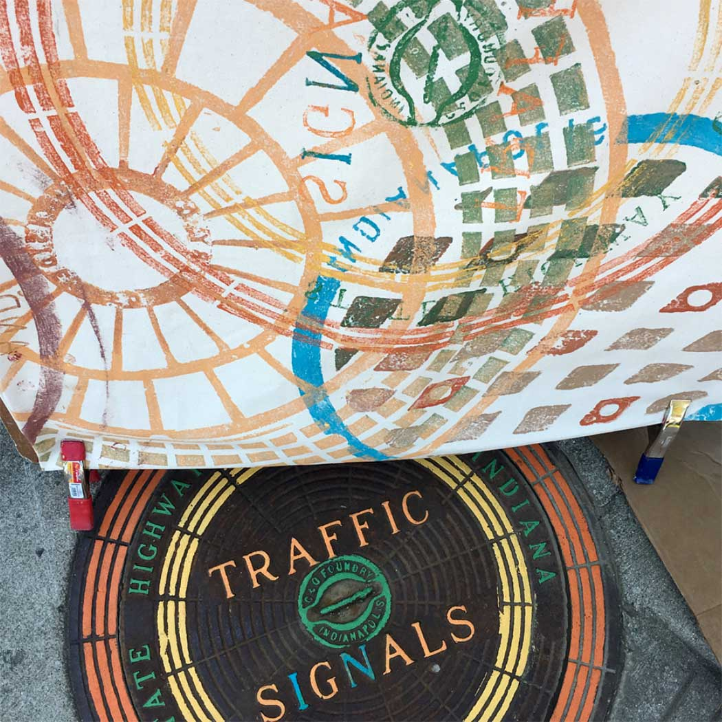 indy street print